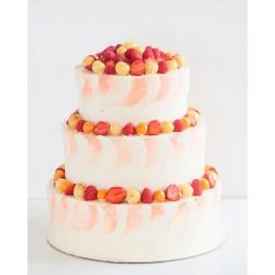 Свадебный торт «Клубника-Черешенка» 27WC