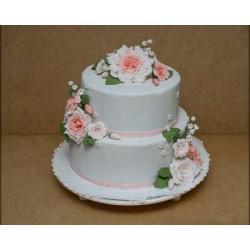 Свадебный торт «Цветы Для Невесты» 28WC
