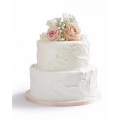 Свадебный торт «Розы в Снегу» 30WC