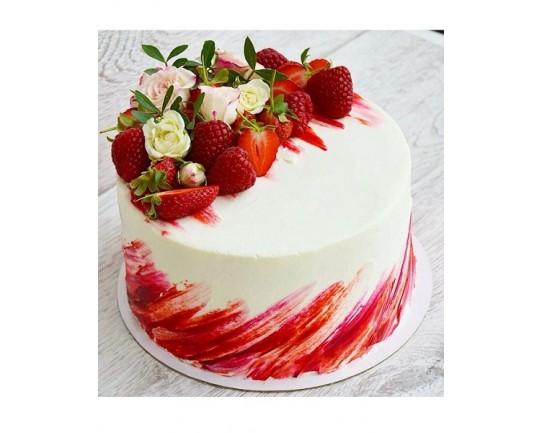 Торт ягодный «Для Любимой» 02YF