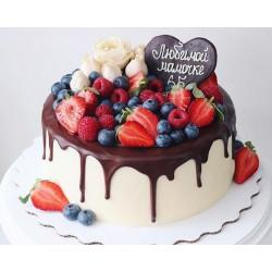 Торт ягодный «Любимой Мамочке» 05YF