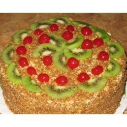 Торт ягодный «Киви с Черешней» 12YF