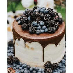 Торт ягодный «Ежевичный» 13YF