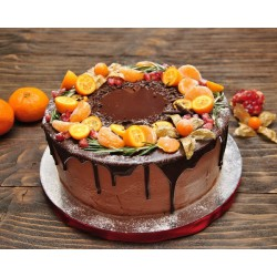 Торт ягодный «Мандаринка» 14YF