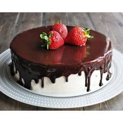 Торт ягодный «3 Клубнички» 22YF