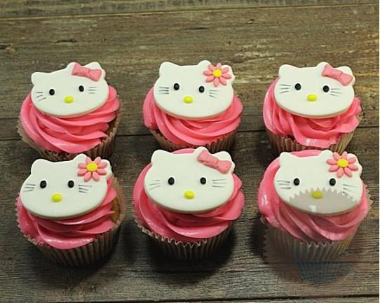 "Детские капкейки ""Hello Kitty"" 30K"