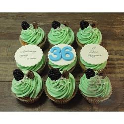 Капкейки на День Рождения «36 лет» 59BD