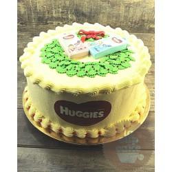 Корпоративный торт «Huggies» 25CC