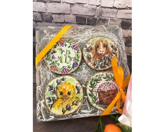 Имбирные печенья «Набор на пасху 2» 85-2IP