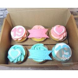 Капкейки на День Рождения «Уже 19» 61BD