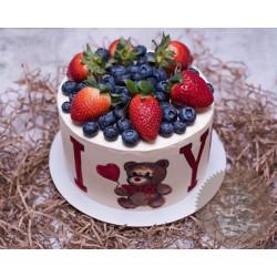 Торт для неё «Мишутка» 19DJ - Lacupcake