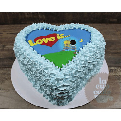 Корпоративный торт «Love Is» 13CC