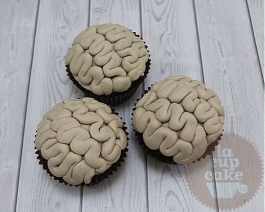 """Необычные капкейки """"Мозги"""" 15U"""
