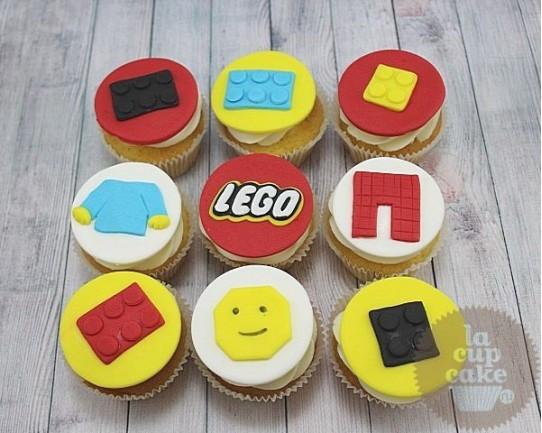 """Детские капкейки """"Лего"""" 58K"""