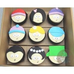 "Детские капкейки ""South Park"" 23K"