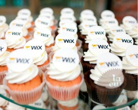 "Капкейки с логотипом ""Wix"" 01C"