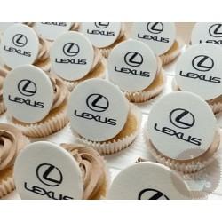 """Капкейки с логотипом """"Lexus"""" 11C"""
