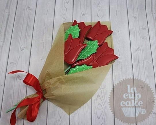 """Имбирные печенья """"Букет Роз"""" 73IP"""