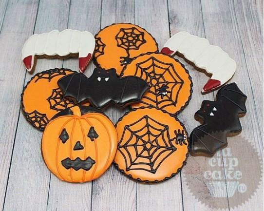 """Имбирные печенья """"Хеллоуин"""" 44IP"""
