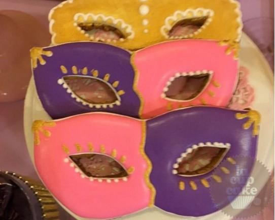 """Имбирные печенья """"Маски"""" 31IP"""