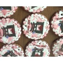 """Имбирные печенья """"С логотипом"""" 12IP"""