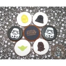 """Имбирные печенья """"Star Wars"""" 09IP"""