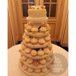 Свадебный торт Кружева 03WC