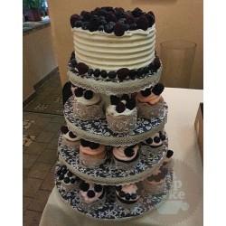 Свадебный торт Ягодный 04WC