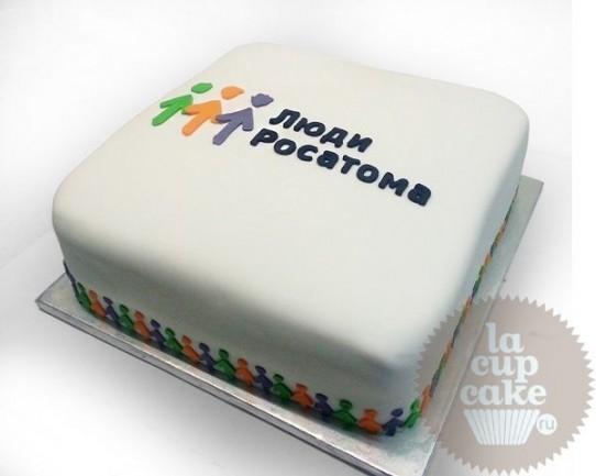 Корпоративный торт Люди Росатома 03CC