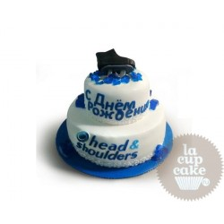 Корпоративный торт Head & Shoulders 06CC