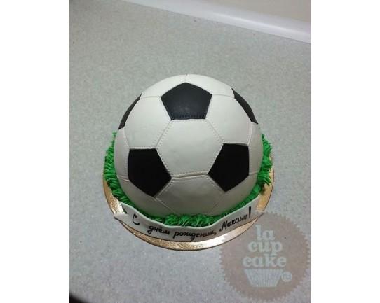 """Торт детский """"Футбольный Мяч"""" 16KC"""
