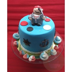 "Торт детский ""Пират"" 17KC"