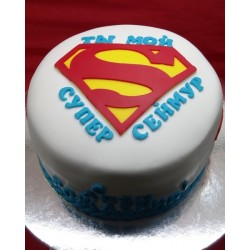 "Торт детский ""Супермен"" 36KC"